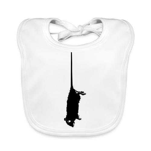 rat mort pendu - Bavoir bio Bébé
