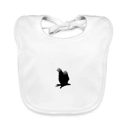 Tirolerbergluft pur (großer Adler) - Baby Bio-Lätzchen