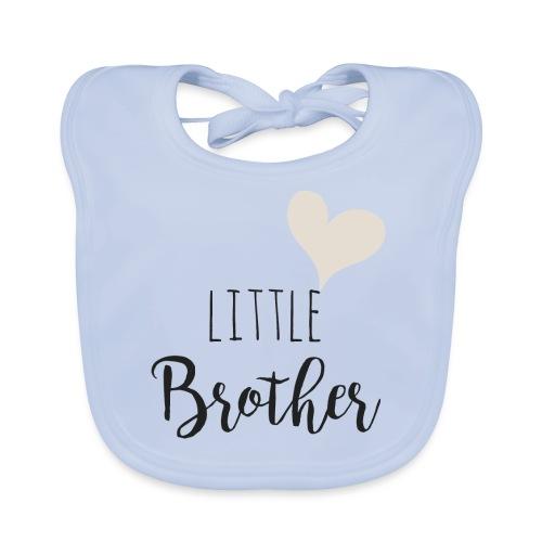 Little brother herz - Baby Bio-Lätzchen