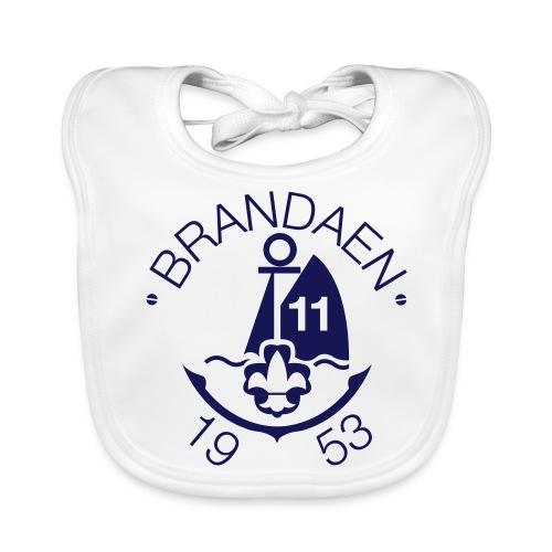brandaen logo blauw - Bio-slabbetje voor baby's