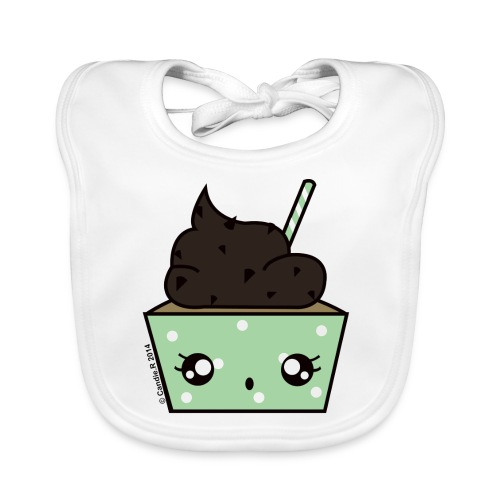 cupcakechocomenthe - Bavoir bio Bébé