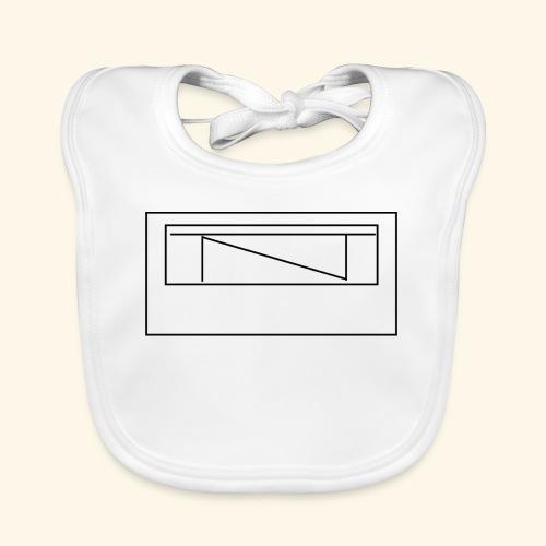 TntMiners Design logga - Ekologisk babyhaklapp
