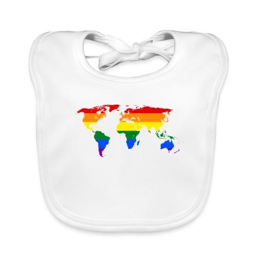 HBTQ WORLD - Ekologisk babyhaklapp