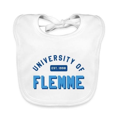 UniversityOfFlemme2 png - Bavoir bio Bébé