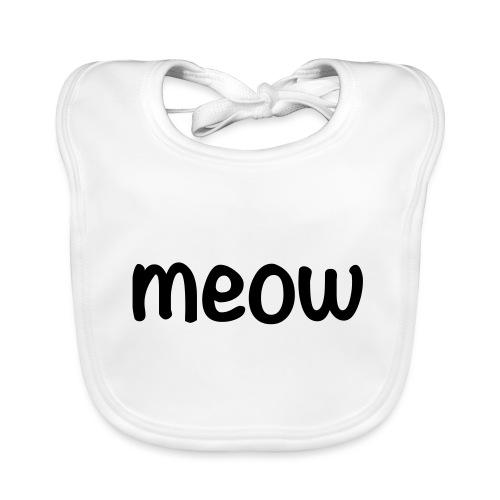 Meow - Babero ecológico bebé