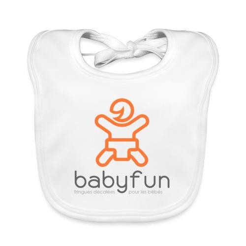 Babyfun - fringues décalées pour les bébés - Bavoir bio Bébé