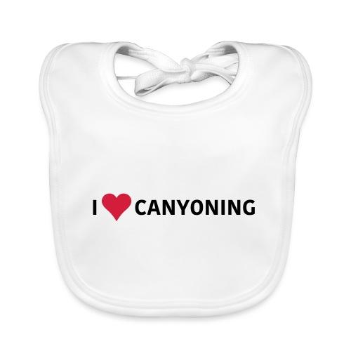 I Love Canyoning - Baby Bio-Lätzchen