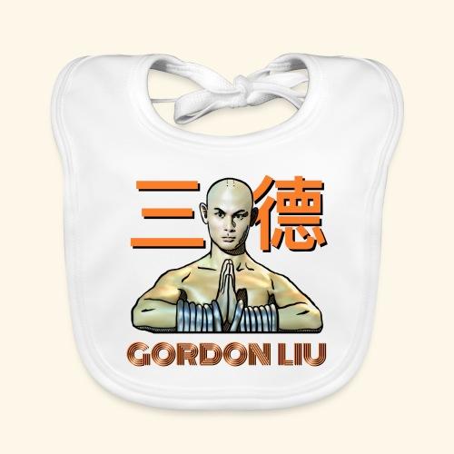 Gordon Liu - San Te Monk (Official) 6 prikker - Baby økologisk hagesmæk