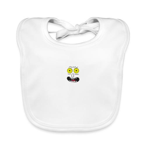 lustiges Gesicht Faschingskostüm - Baby Bio-Lätzchen