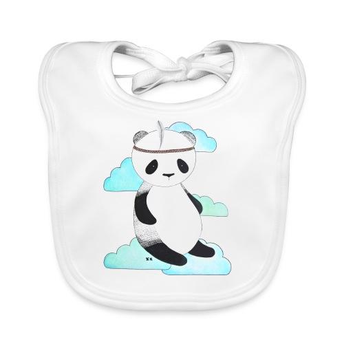 pandabeer - Bio-slabbetje voor baby's