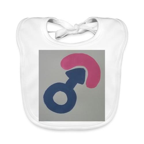 bobfahrer symbol - Baby Bio-Lätzchen