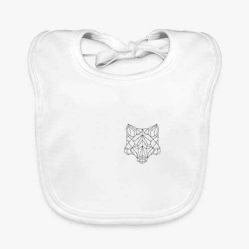Fuchs geometrisch - Baby Bio-Lätzchen