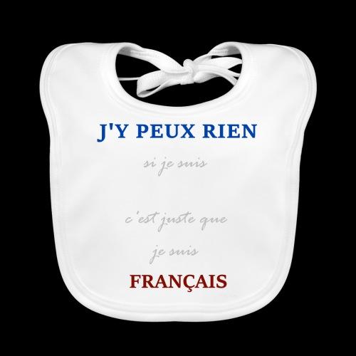 Je suis Français - Bavoir bio Bébé