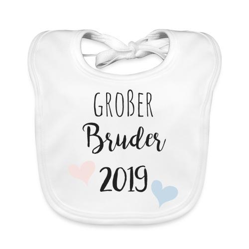 Großer Bruder 2019 - Baby Bio-Lätzchen