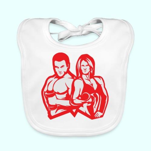 Man & woman NLB - Vauvan luomuruokalappu