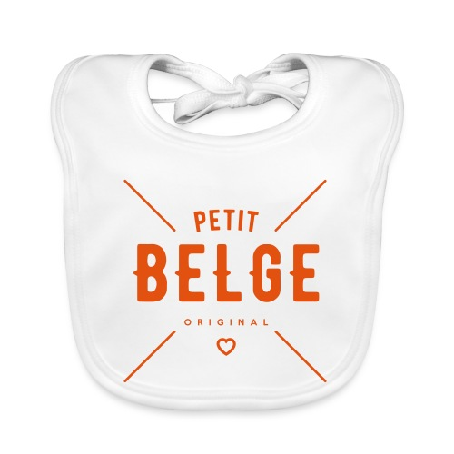 petit belge original - Bavoir bio Bébé