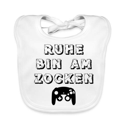 RUHE BIN AM ZOCKEN - Baby Bio-Lätzchen