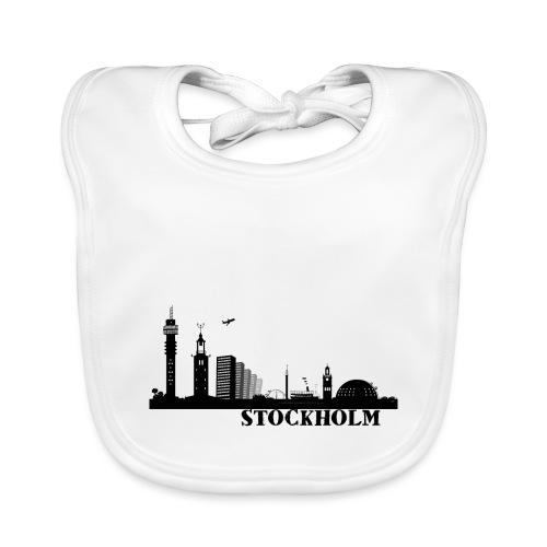 Stockholm - Ekologisk babyhaklapp