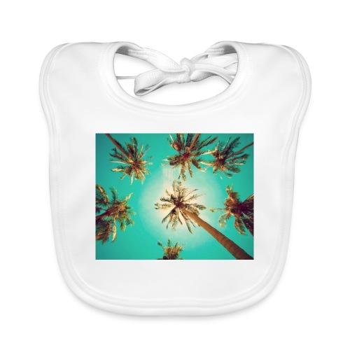 palm pinterest jpg - Baby Organic Bib