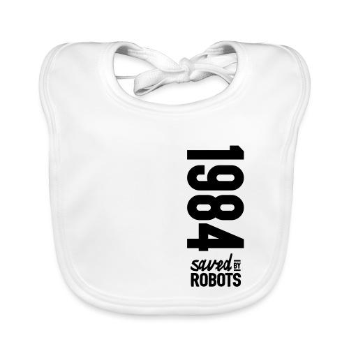 1984 / Saved By Robots Premium Tote Bag - Baby Organic Bib