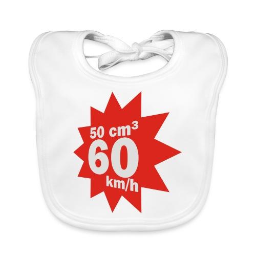 50 ccm, 60 km/h - Baby Bio-Lätzchen