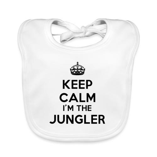 Keep calm I'm the Jungler - Bavoir bio Bébé