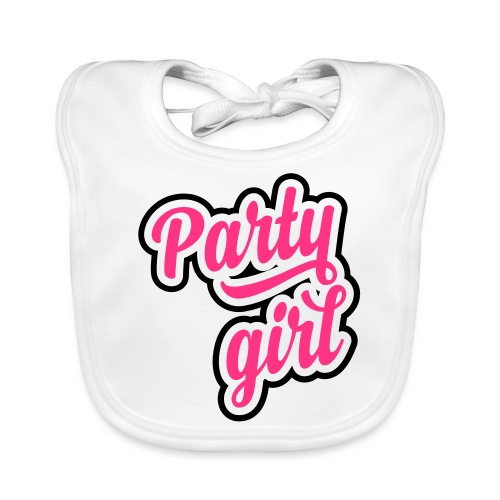 Party Girl - Bio-slabbetje voor baby's