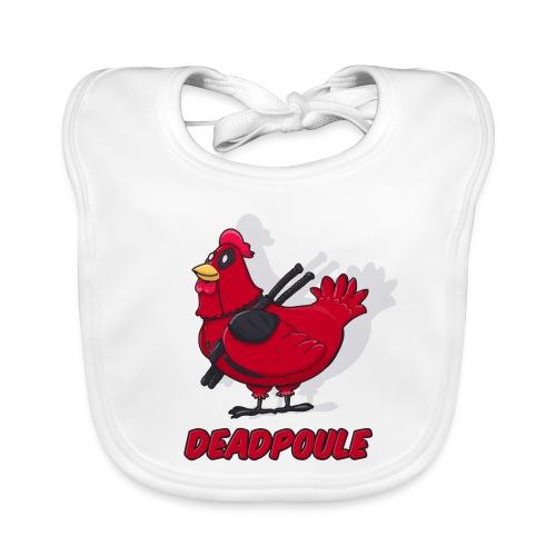 Deadpoule - Bavoir bio Bébé
