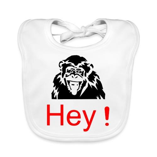 hey! monkey - Bavoir bio Bébé
