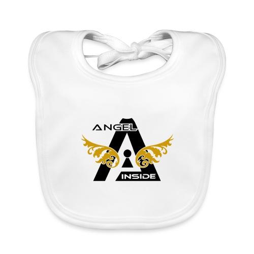 ANGEL INSIDE2-01 - Bavaglino ecologico per neonato