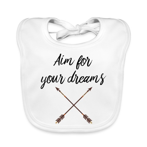 Aim for your Dreams - Vauvan ruokalappu