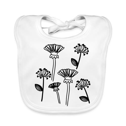 Blume - Baby Bio-Lätzchen