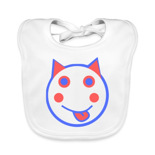Red White And Blue - Alf Da Cat - Organic Baby Bibs