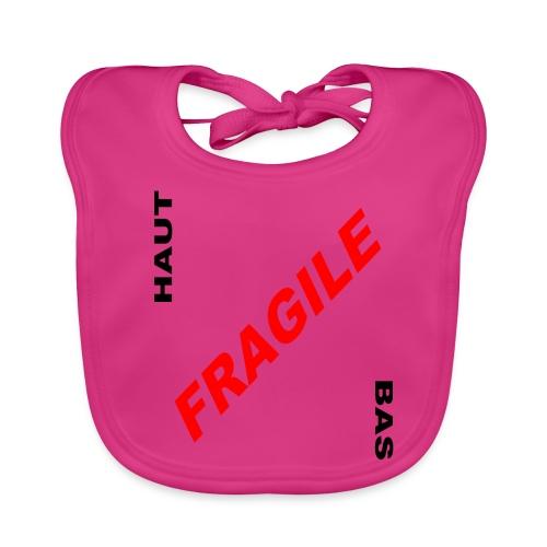 FRAGILE - Bavoir bio Bébé