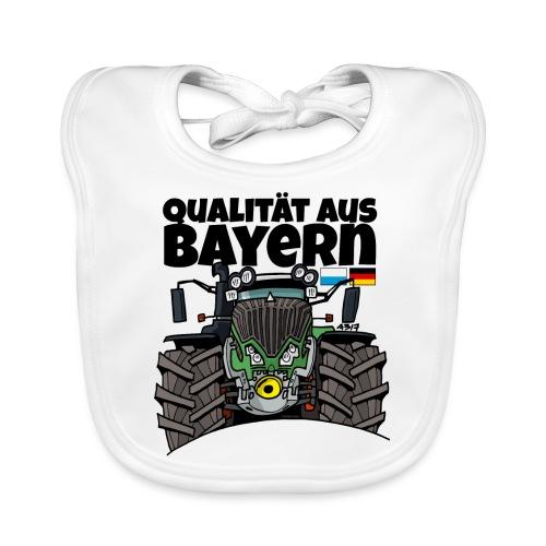 Qualitaet aus Bayern F def - Bio-slabbetje voor baby's