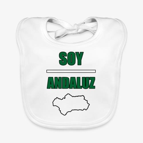Soy Andaluz - Babero de algodón orgánico para bebés