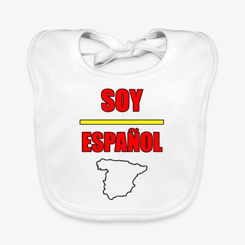 Soy Español - Babero de algodón orgánico para bebés