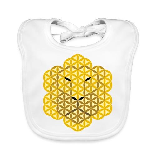 The Lion Of Life - Alpha Male, Mane 01. - Organic Baby Bibs