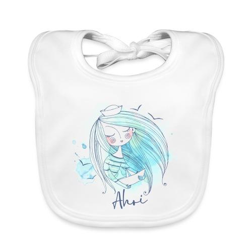 Meermädchen Ahoi - Baby Bio-Lätzchen