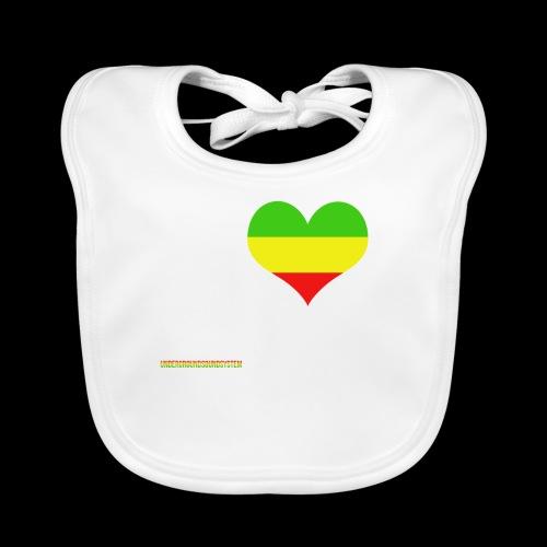 I LOVE Reggae - Baby Bio-Lätzchen