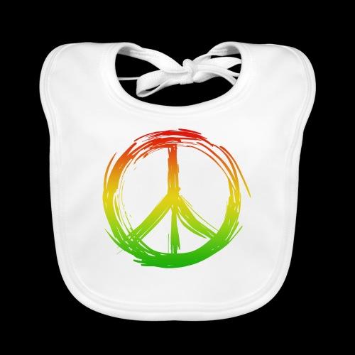 PEACE by UNDERGROUNDSOUNDSYSTEM - Baby Bio-Lätzchen