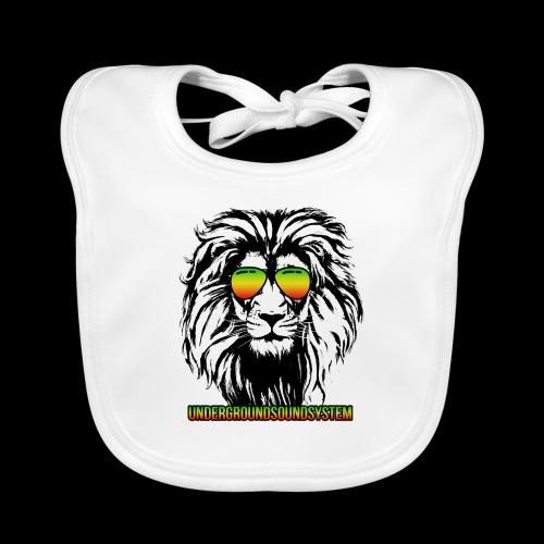 RASTA REGGAE LION - Baby Bio-Lätzchen
