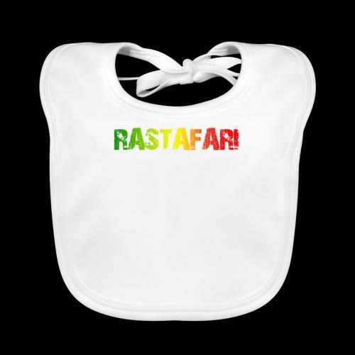 RASTAFARI - PEACE LOVE & UNITY - Baby Bio-Lätzchen