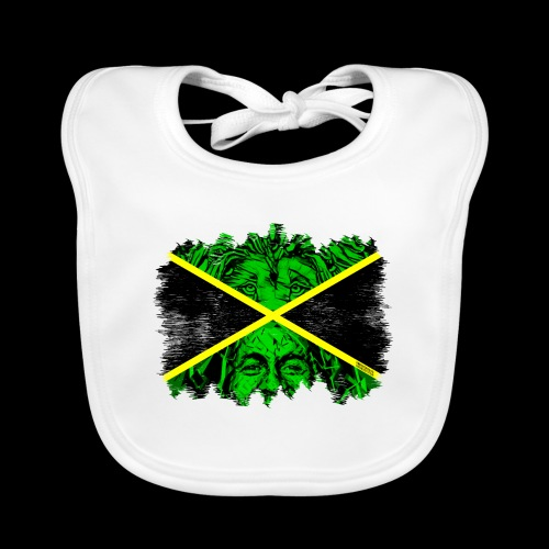 LION BOB JAMAICA - Baby Bio-Lätzchen