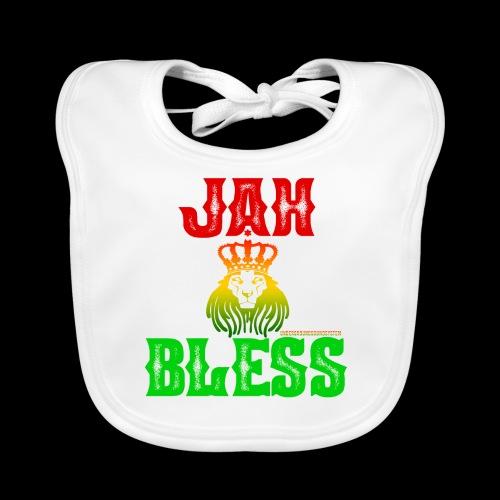 JAH BLESS RASTAFARI - Baby Bio-Lätzchen