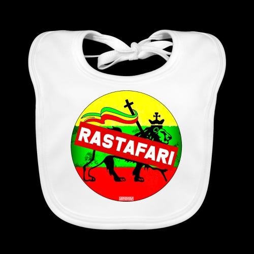 RASTAFARI BANNER - Baby Bio-Lätzchen