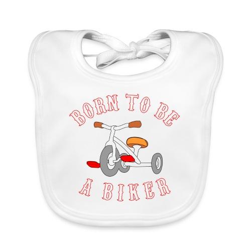 Born to be a biker Dreirad - Baby Bio-Lätzchen
