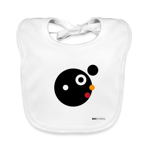 WIO BLACK POWER - Babero de algodón orgánico para bebés