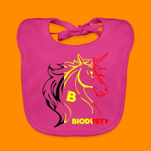 belgian biodusty unicorn hoodie unisex - Bio-slabbetje voor baby's