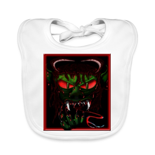 monster - Baby Organic Bib